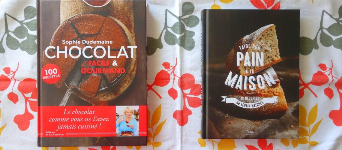 livres de cuisine des desserts au chocolat et du pain maison le blog de lili. Black Bedroom Furniture Sets. Home Design Ideas