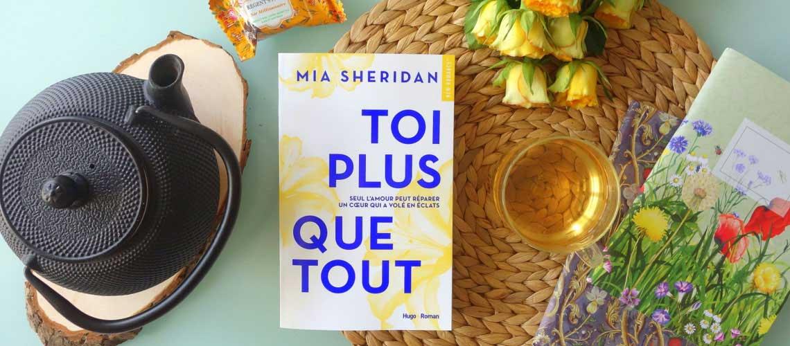 Toi plus que tout, Mia Sheridan, Hugo new romance - Le blog de Lili