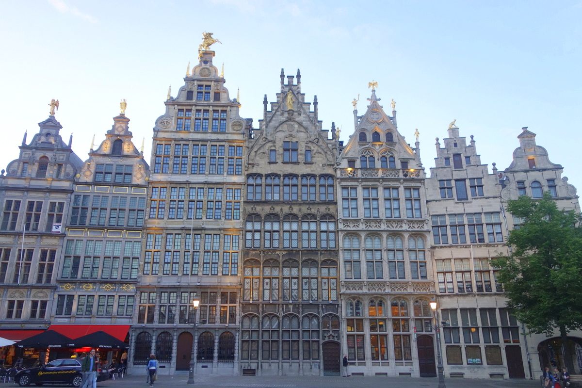 La Grand place d'Anvers