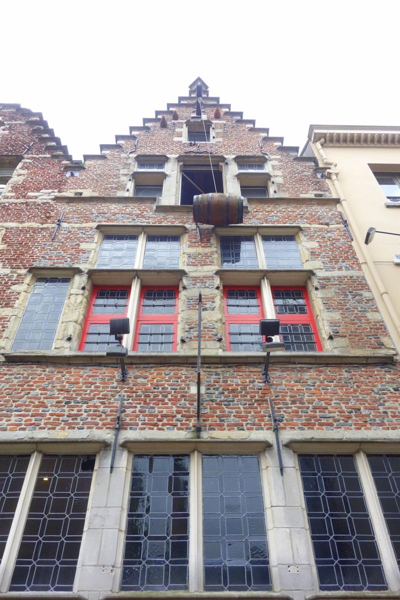 Les rues d'Anvers, en Flandre