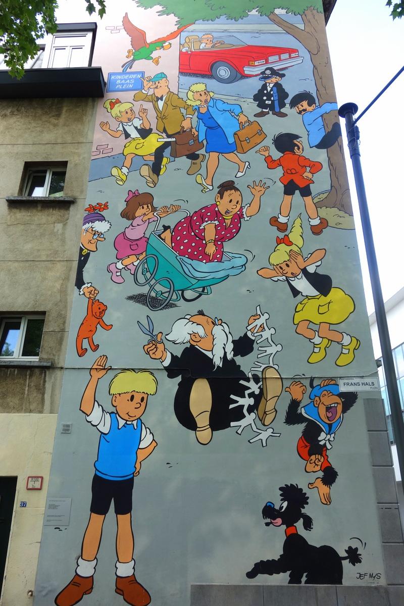 Le street art à Anvers, en Flandre