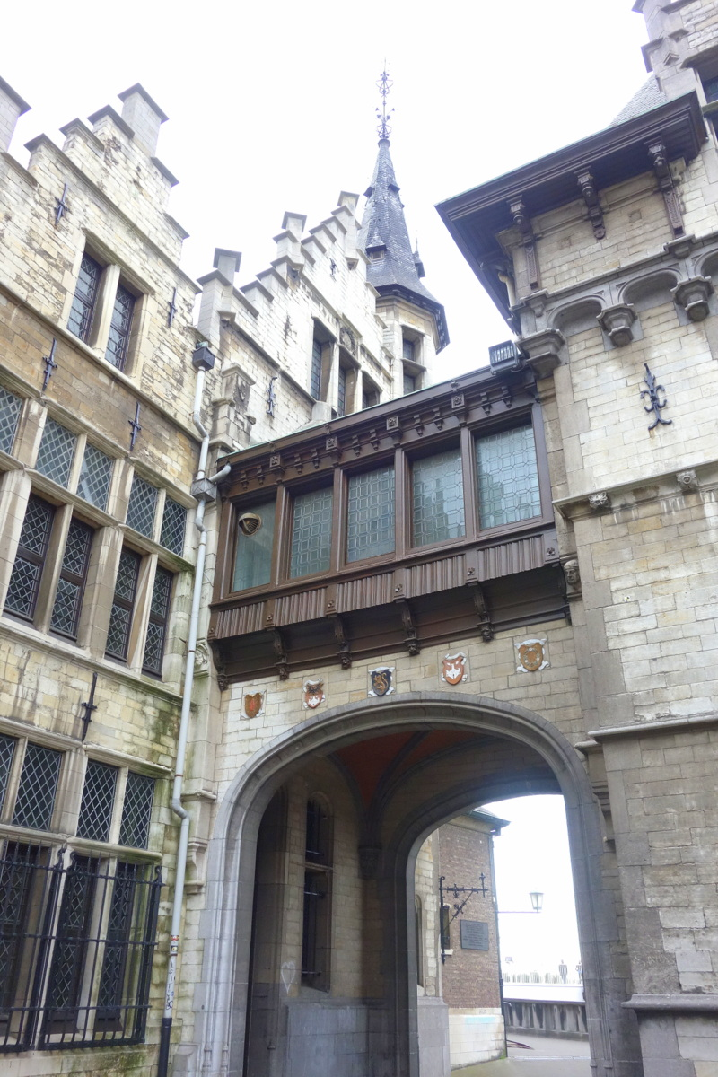 Le château d'Anvers en Flandre