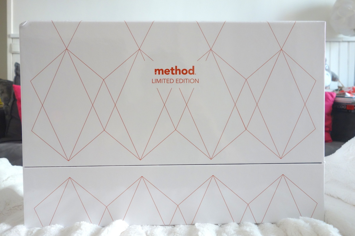 Box produits nettoyants Rose Gold de Method