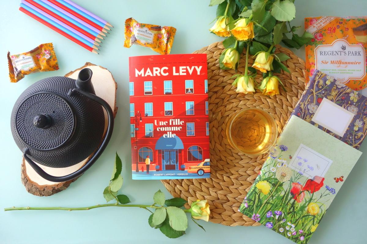 Une fille comme elle, Marc Levy - Le blog de Lili