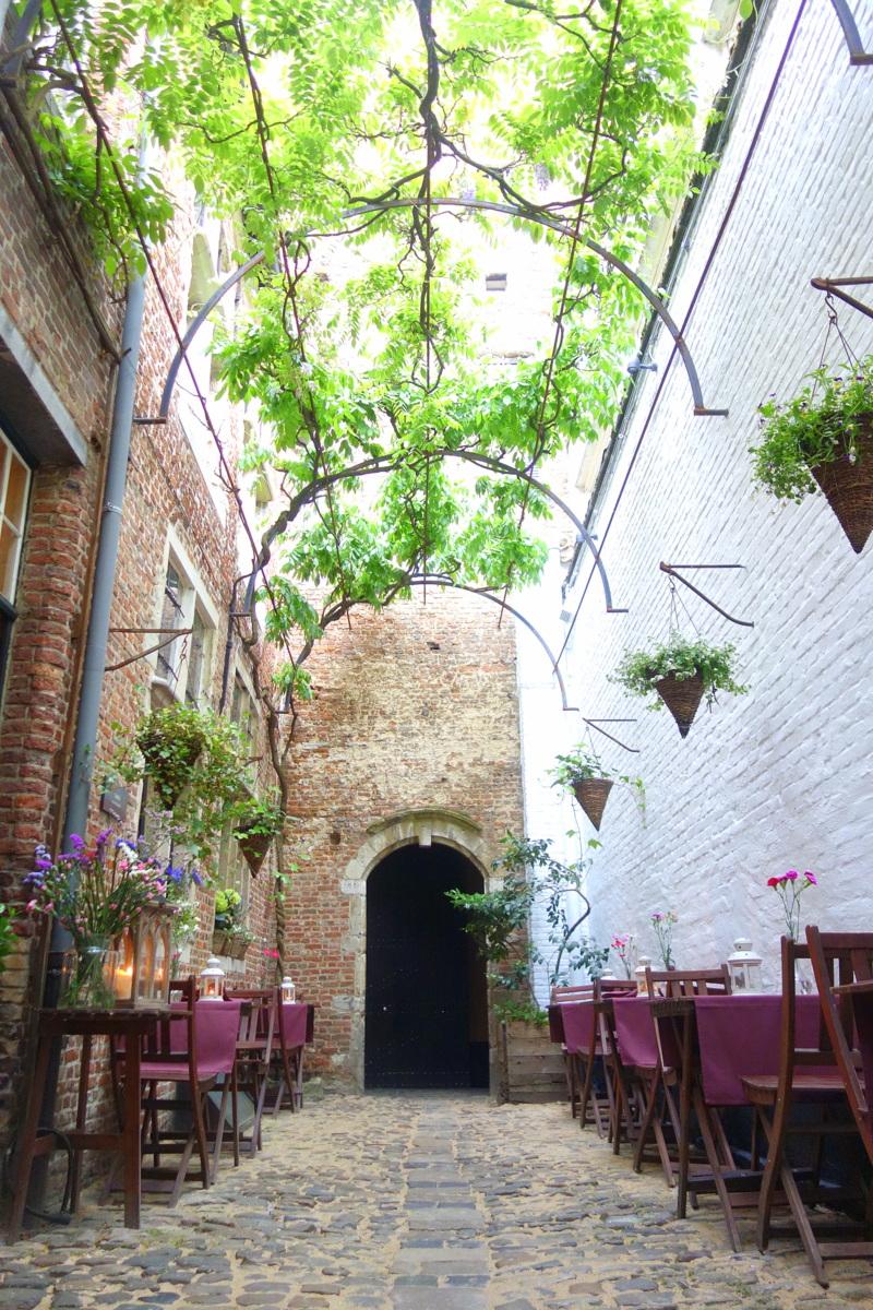 Vlaeykensgang, une ancienne ruelle à découvrir à Anvers