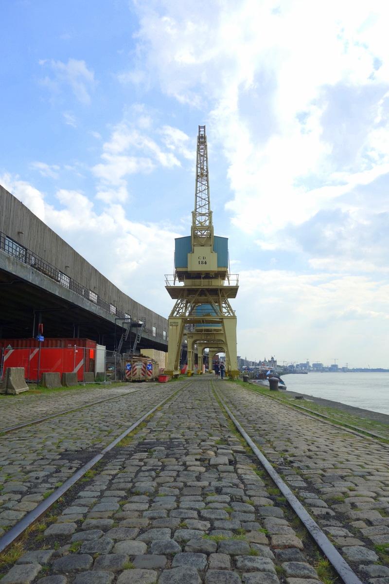 Le port d'Anvers, en Flandre