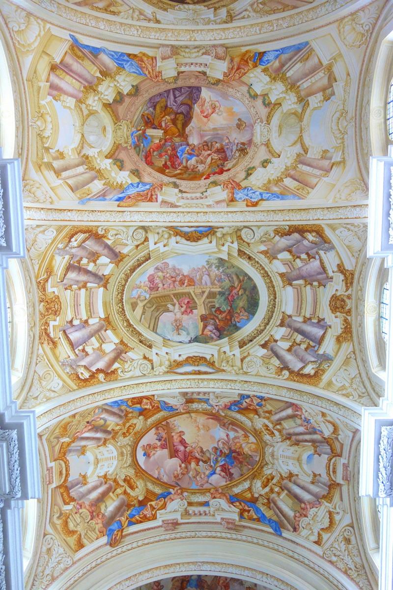 Voyage en Autriche - L'abbaye de Saint-Florian