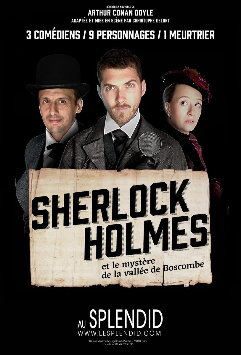 Sherlock Holmes et le mystère de la vallée de Boscombe - Affiche