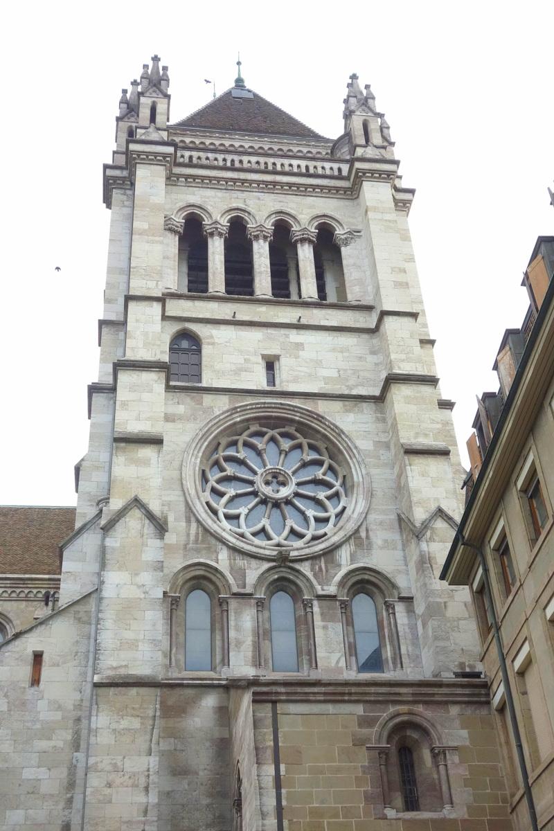 Centre ville de Genève, Suisse