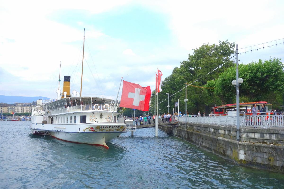 Genève - Croisière sur le lac Léman