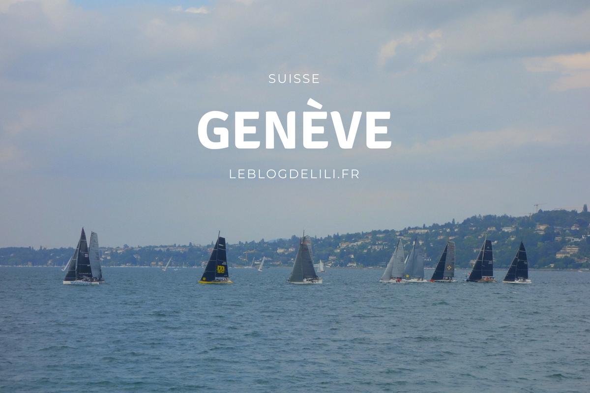 Quelques heures à Genève, en Suisse
