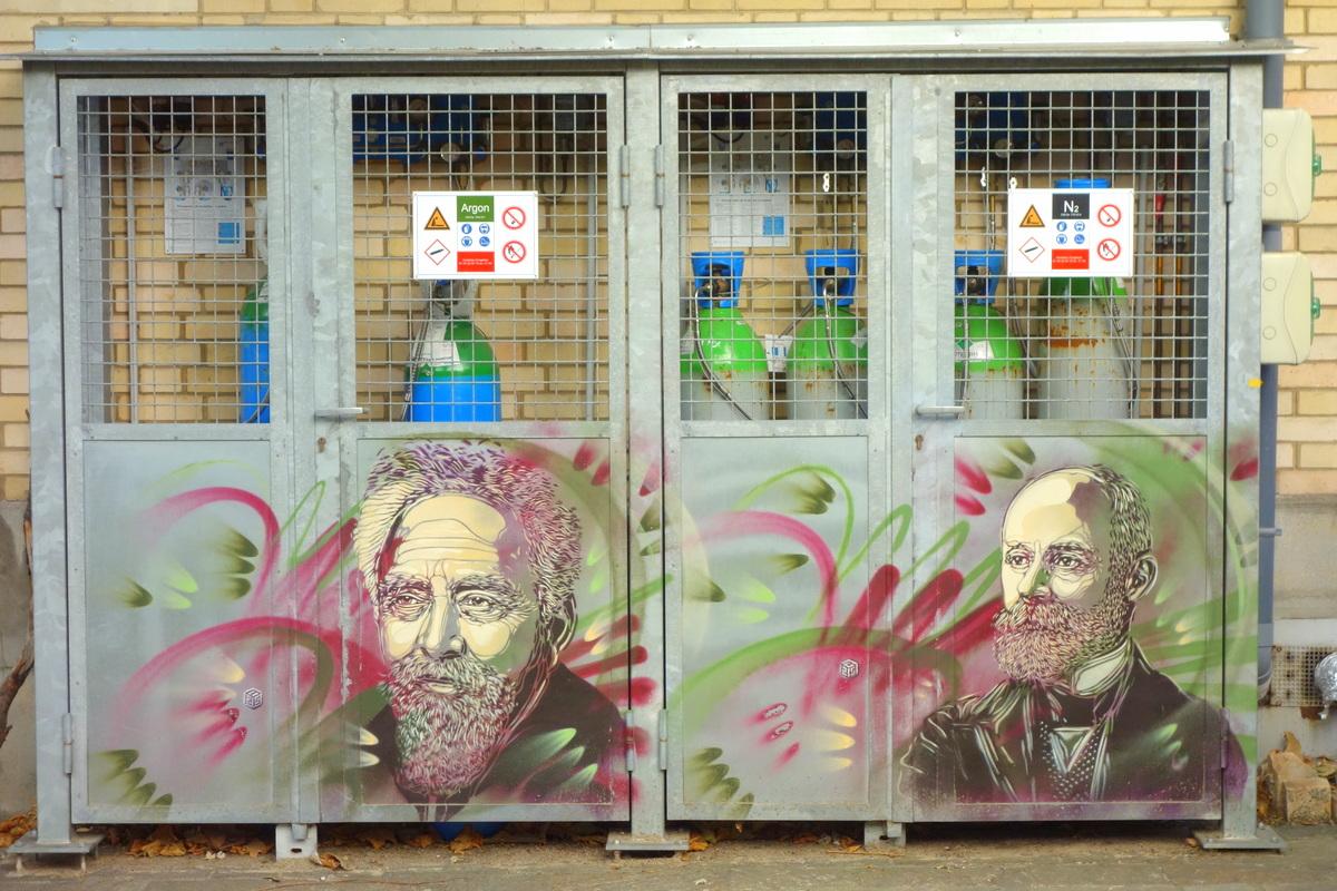 Street art à Paris - Illustres ! C215 autour du Panthéon