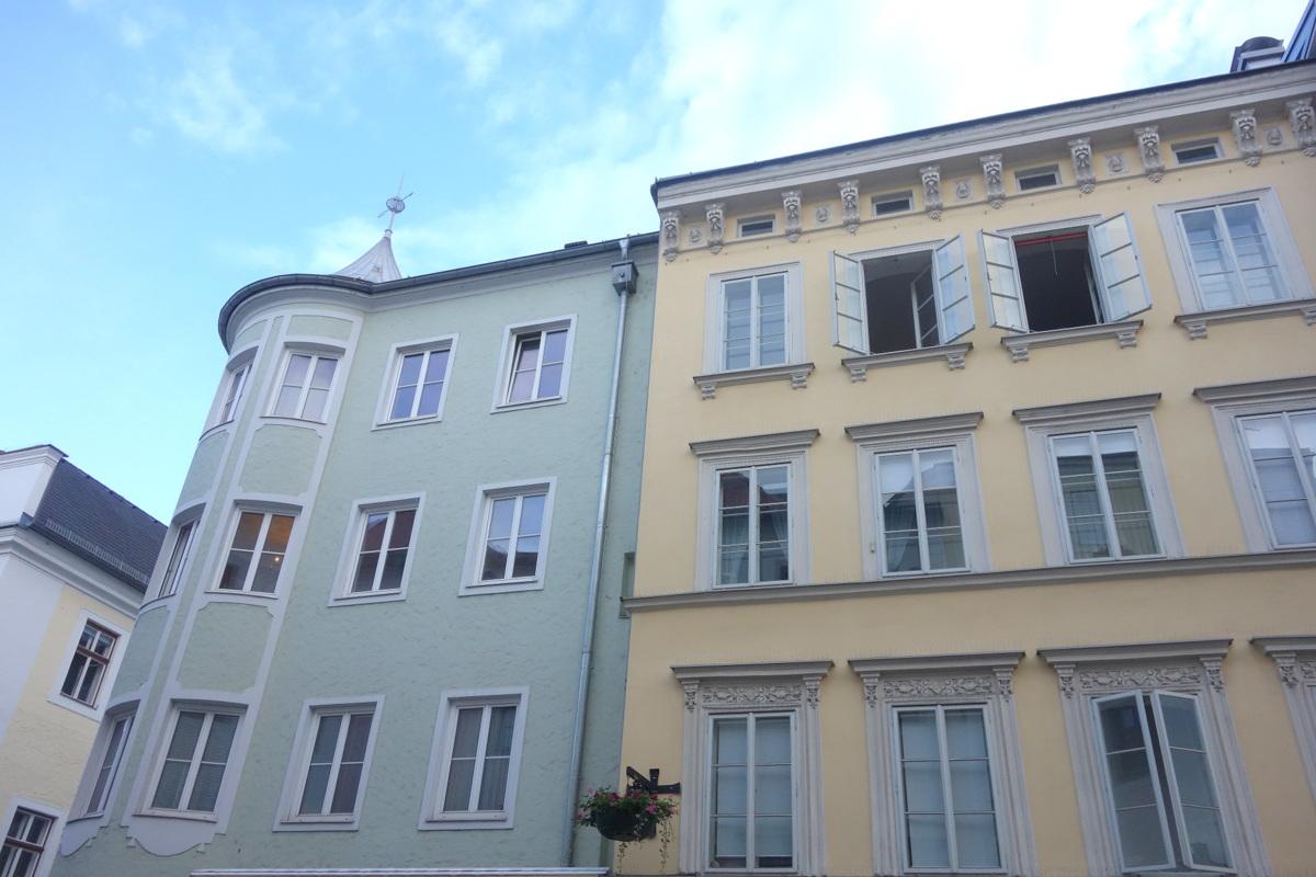Voyage en Autriche - Dans les rues de Linz