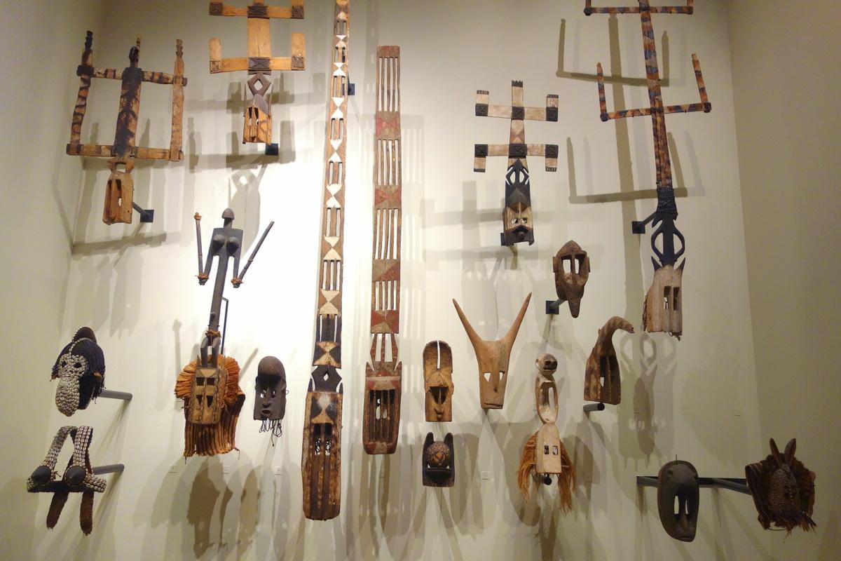 Musée du Quai Branly - Jacques Chirac - Masques africains du Mali