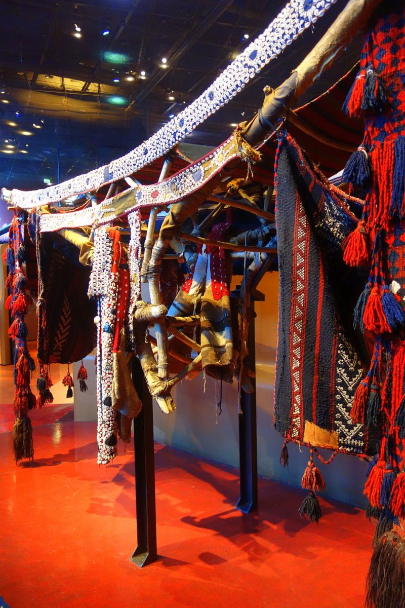 Musée du Quai Branly - Jacques Chirac - Palanquin du Moyen-Orient