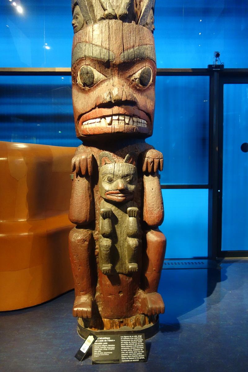 Musée du Quai Branly - Jacques Chirac - Mât héraldique