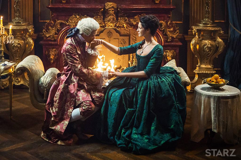 Outlander - Claire et Jamie Fraser à la cour du roi de France