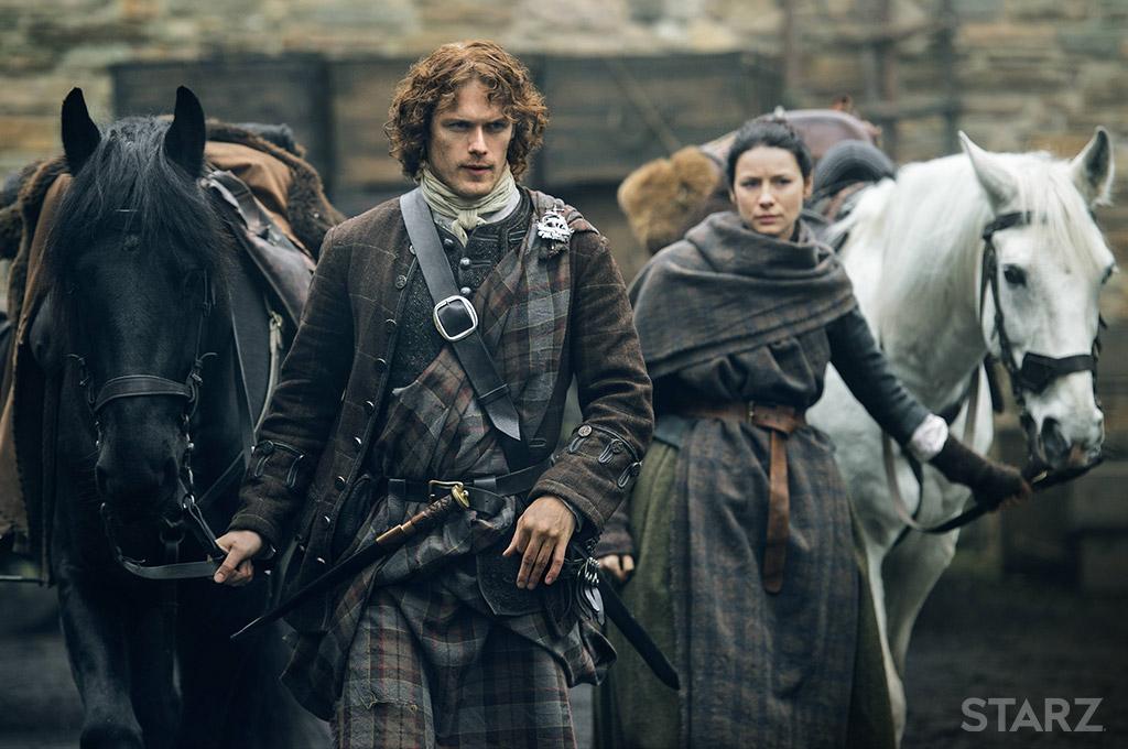Outlander - Claire et Jamie Fraser