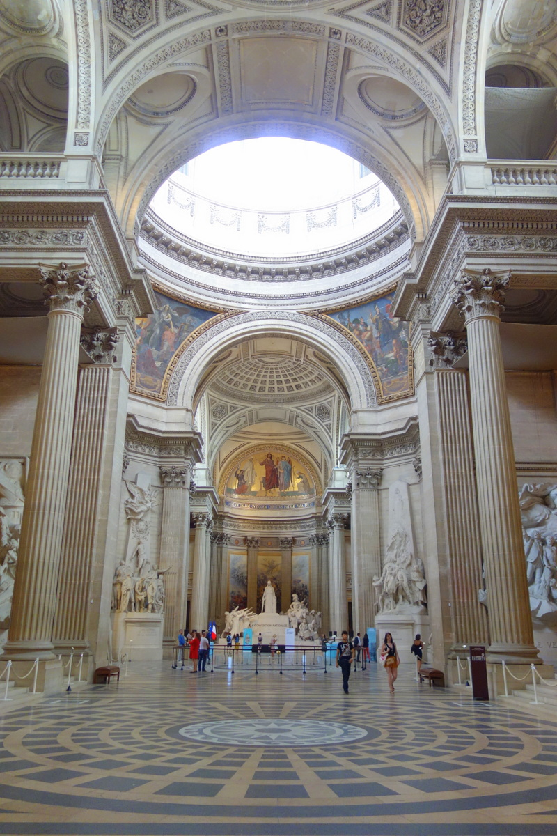 Le Panthéon, un monument national à Paris