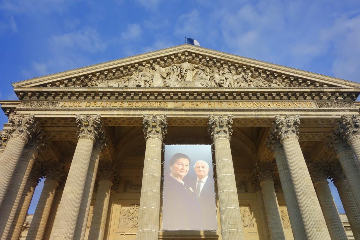 Simone Weil entre au Panthéon