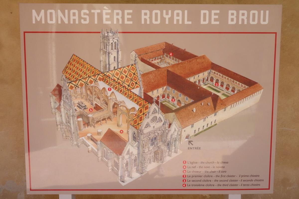 Monastère de Brou - Les trois cloîtres