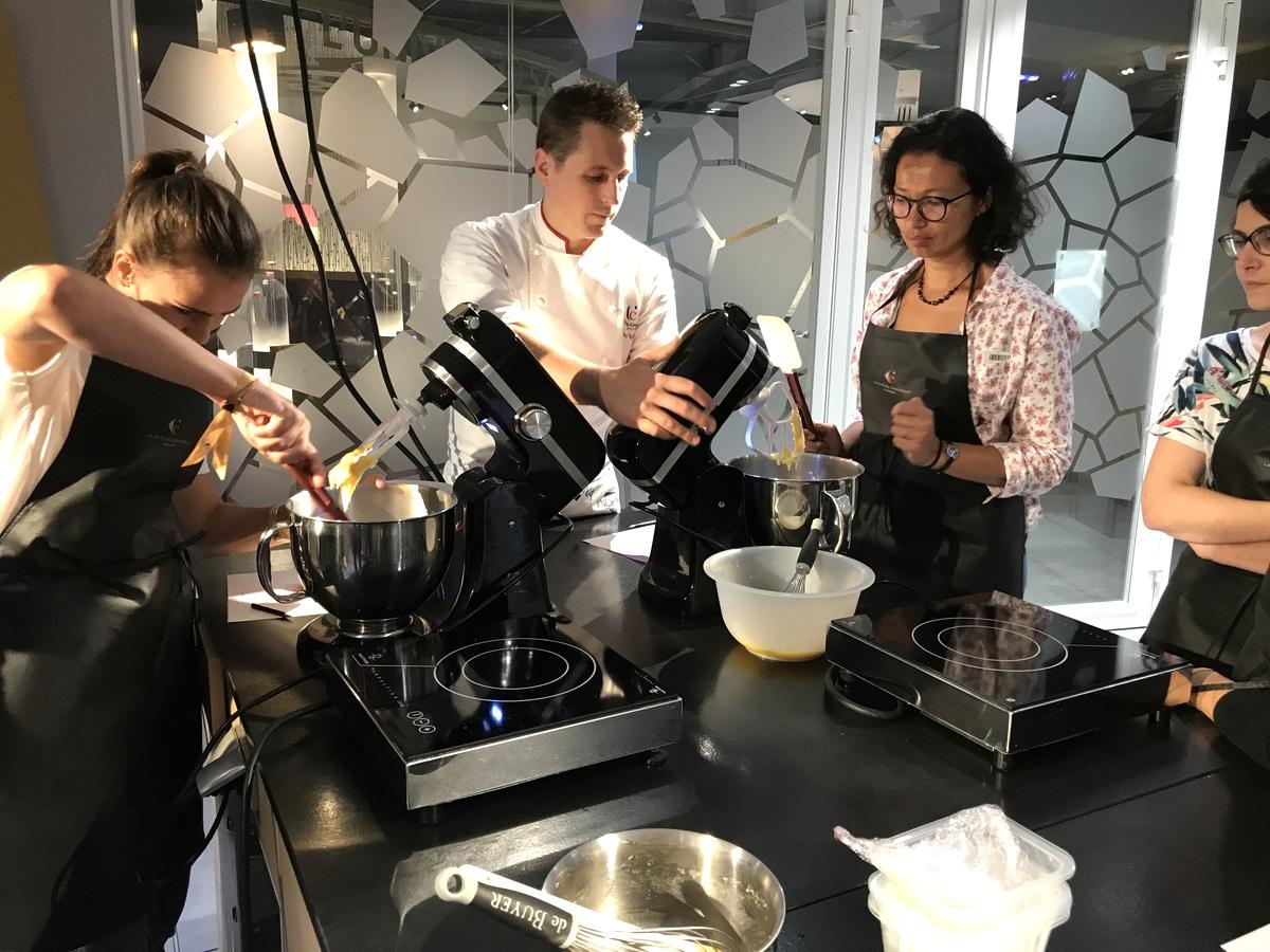 Cité du chocolat Valrhona - Atelier à l'école des gourmets
