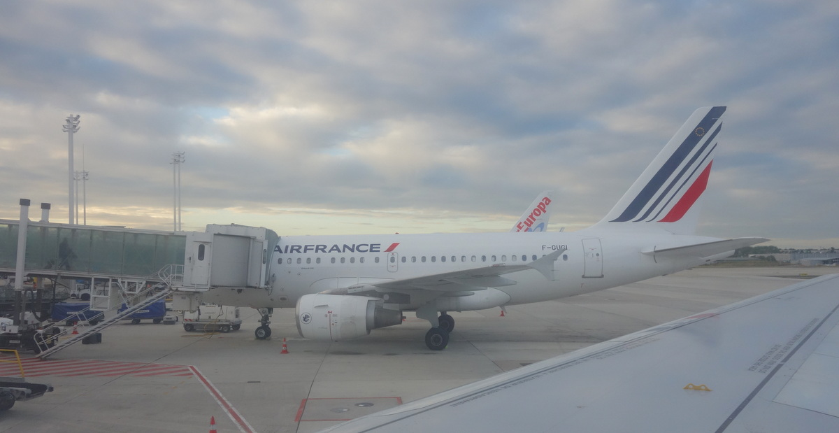 Avion Air France pour Stockholm