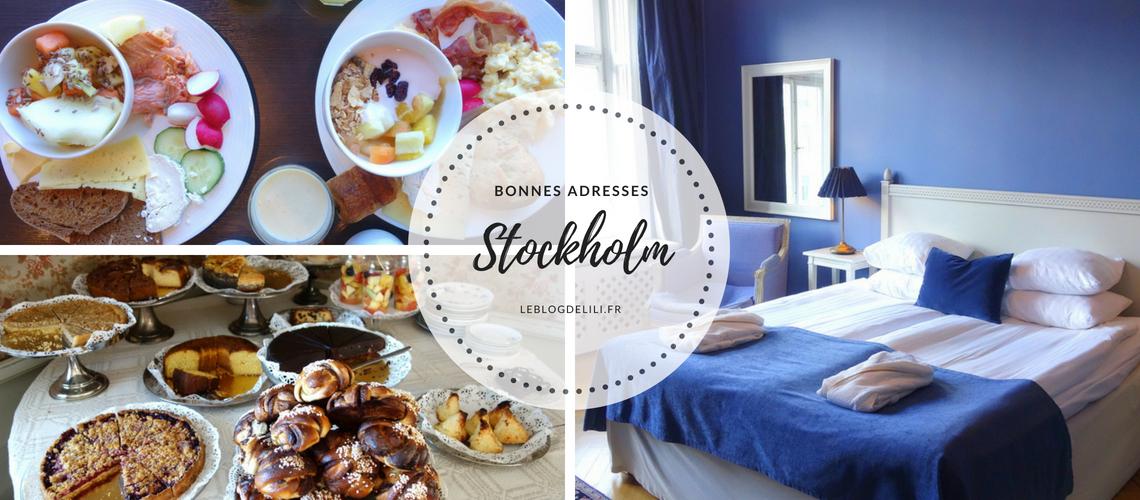 Bonnes adresses à Stockholm - Hôtels & goûters