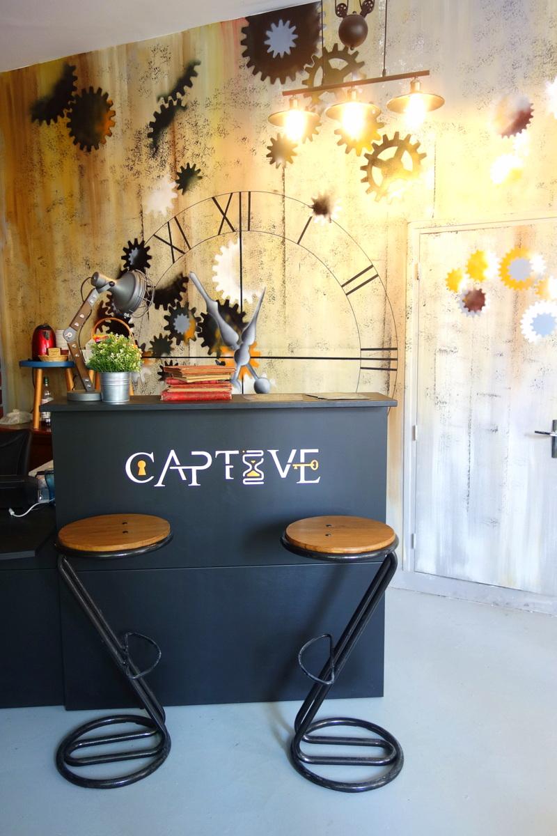 Captive live escape game