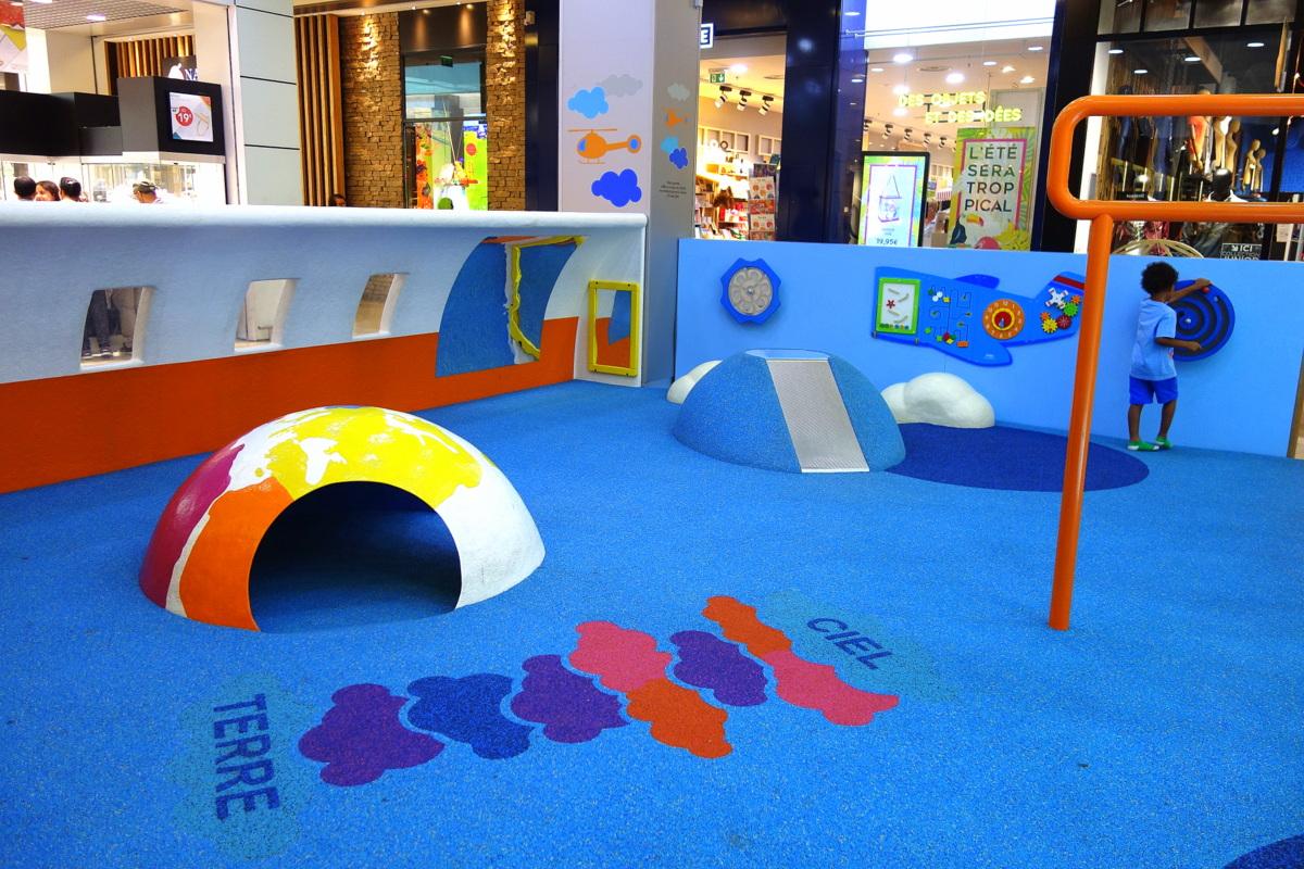 Centre commercial Vélizy 2 - Structures pour enfants