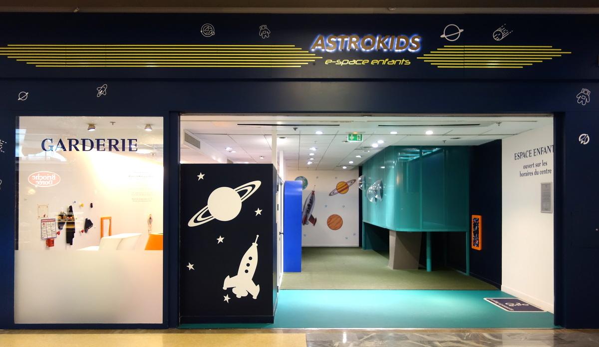 Centre commercial Vélizy 2 - Garderie pour enfants