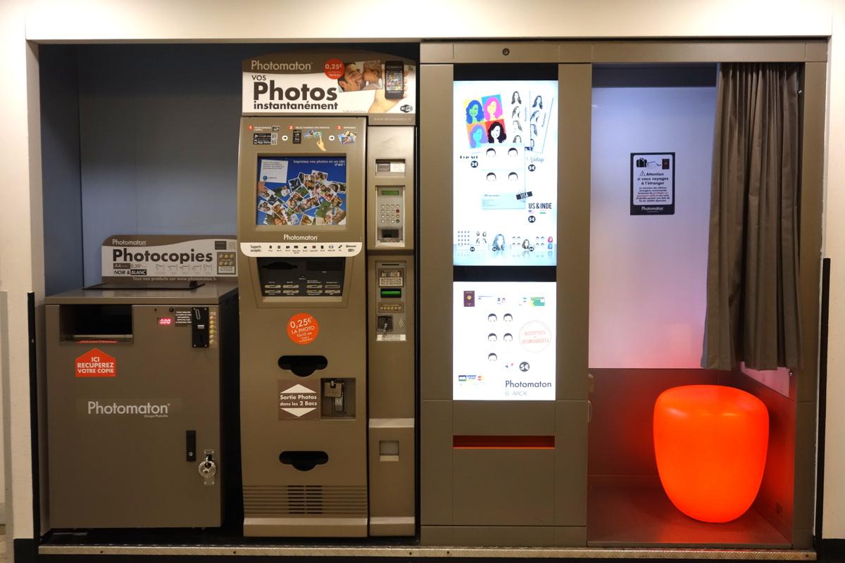 Centre commercial Vélizy 2 - Photomaton