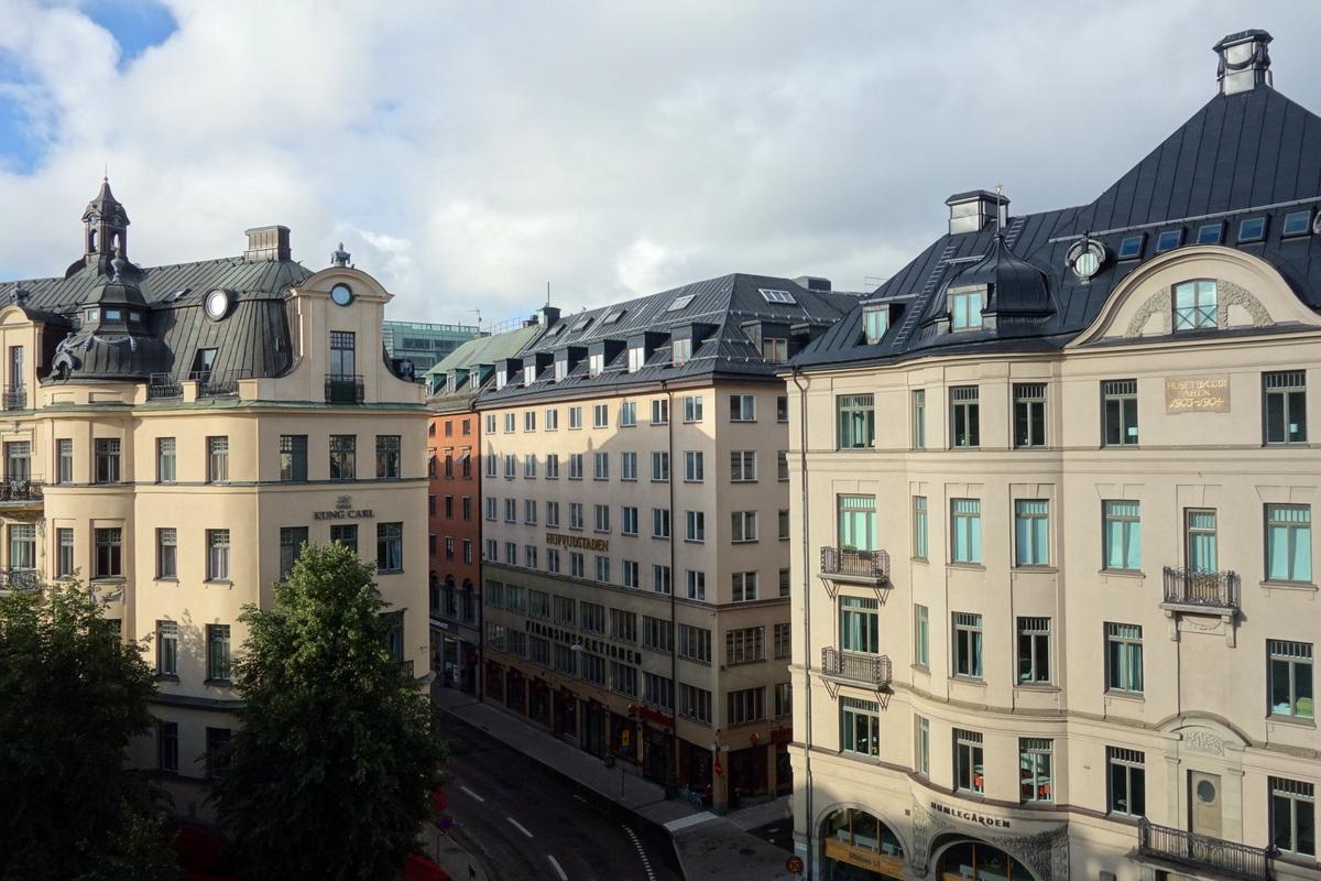 Hotel Drottning Kristina - La vue