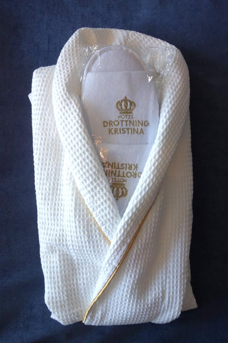 Le petit-déjeuner de l'hôtel Drottning Kristina à Stockholm
