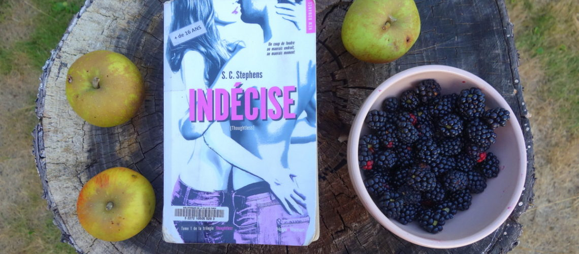 """Toughtless, tome 1 : """"Indécise"""", de S. C. Stephens"""