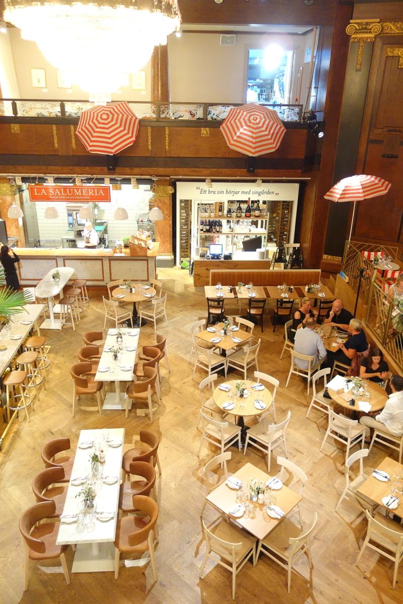 Eataly, temple de la food italienne à Stockholm