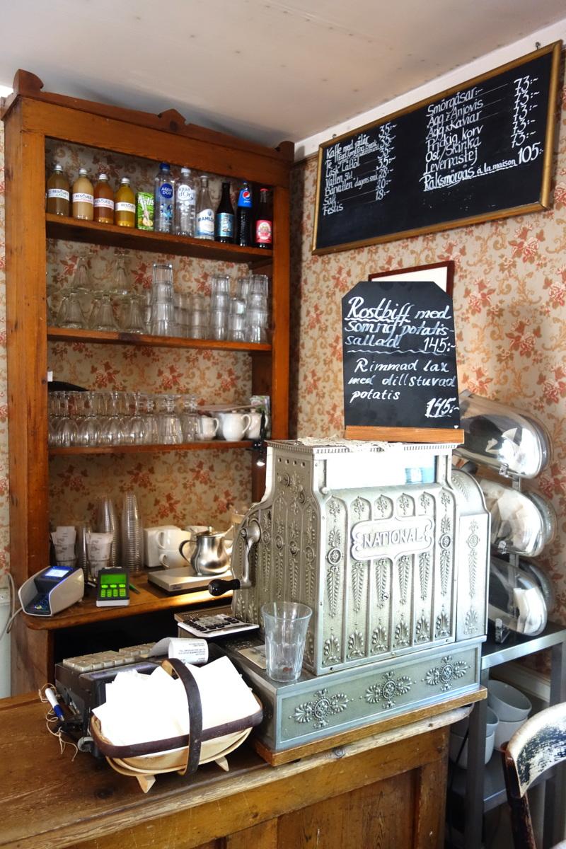 Le café Petissan situé au Skansen, à Stockholm