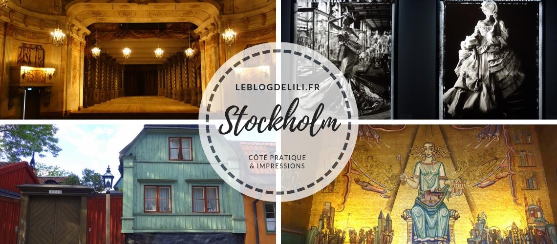 Stockholm côté pratique