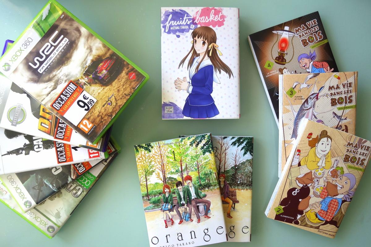 Vélizy 2 - Mangas et jeux vidéos