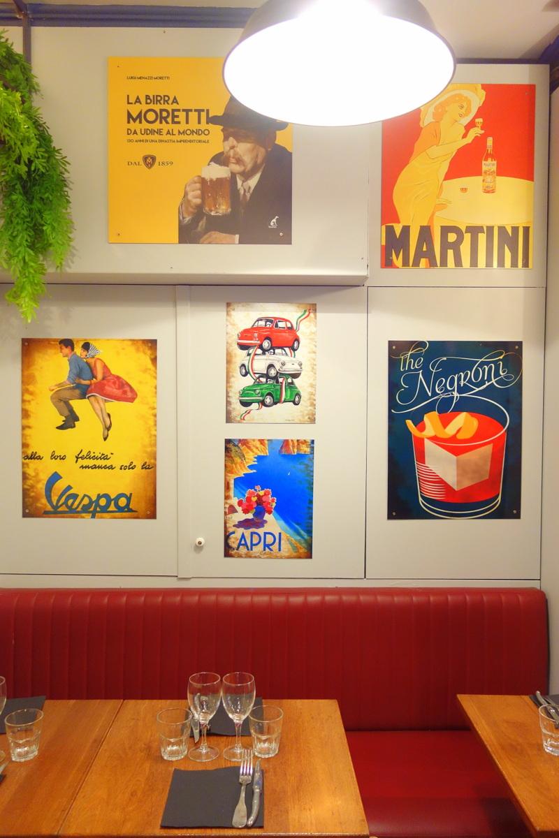 Andrea, le clan des mamma, restaurant italien à Paris