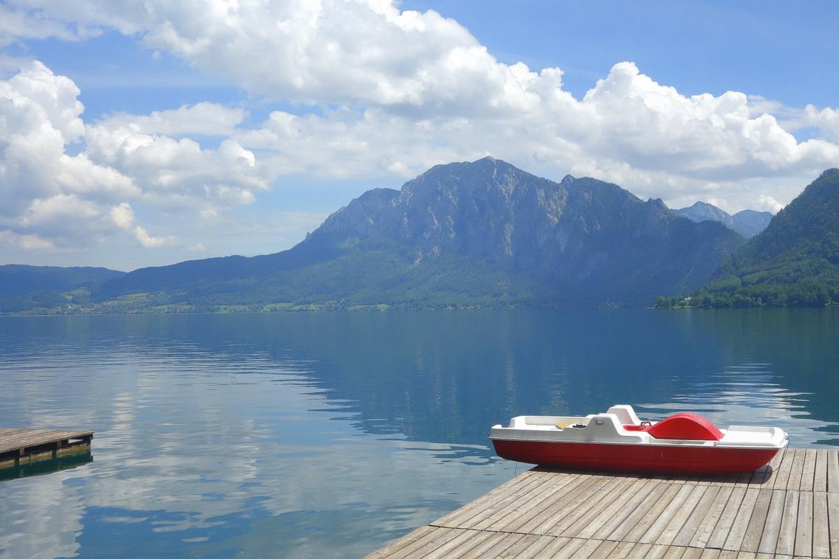 Voyage en Autriche - Attersee