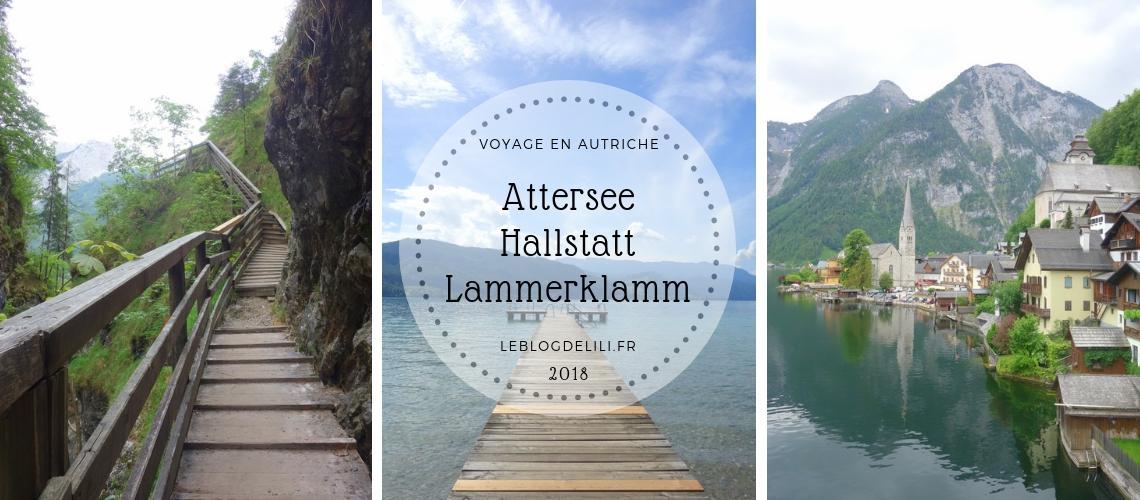 Attersee - Hallstatt - Lammerklamm