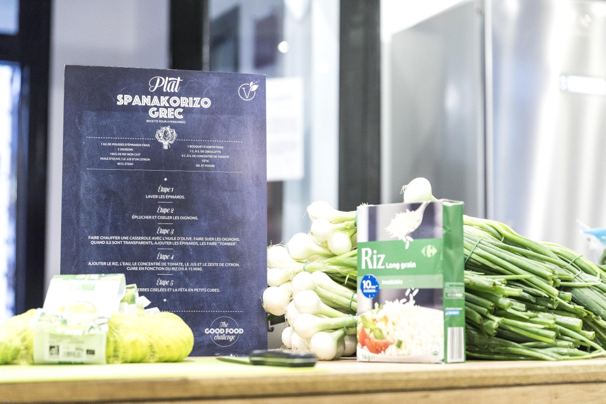 The good food challenge, Carrefour