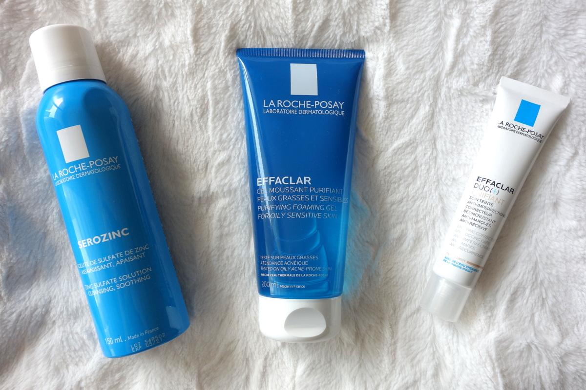 La Roche-Posay - Test de la gamme Effaclar ainti-imperfections