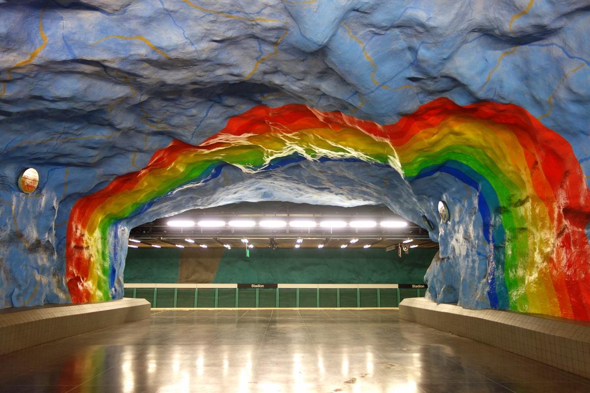 Le métro de Stockholm, le blog de Lili