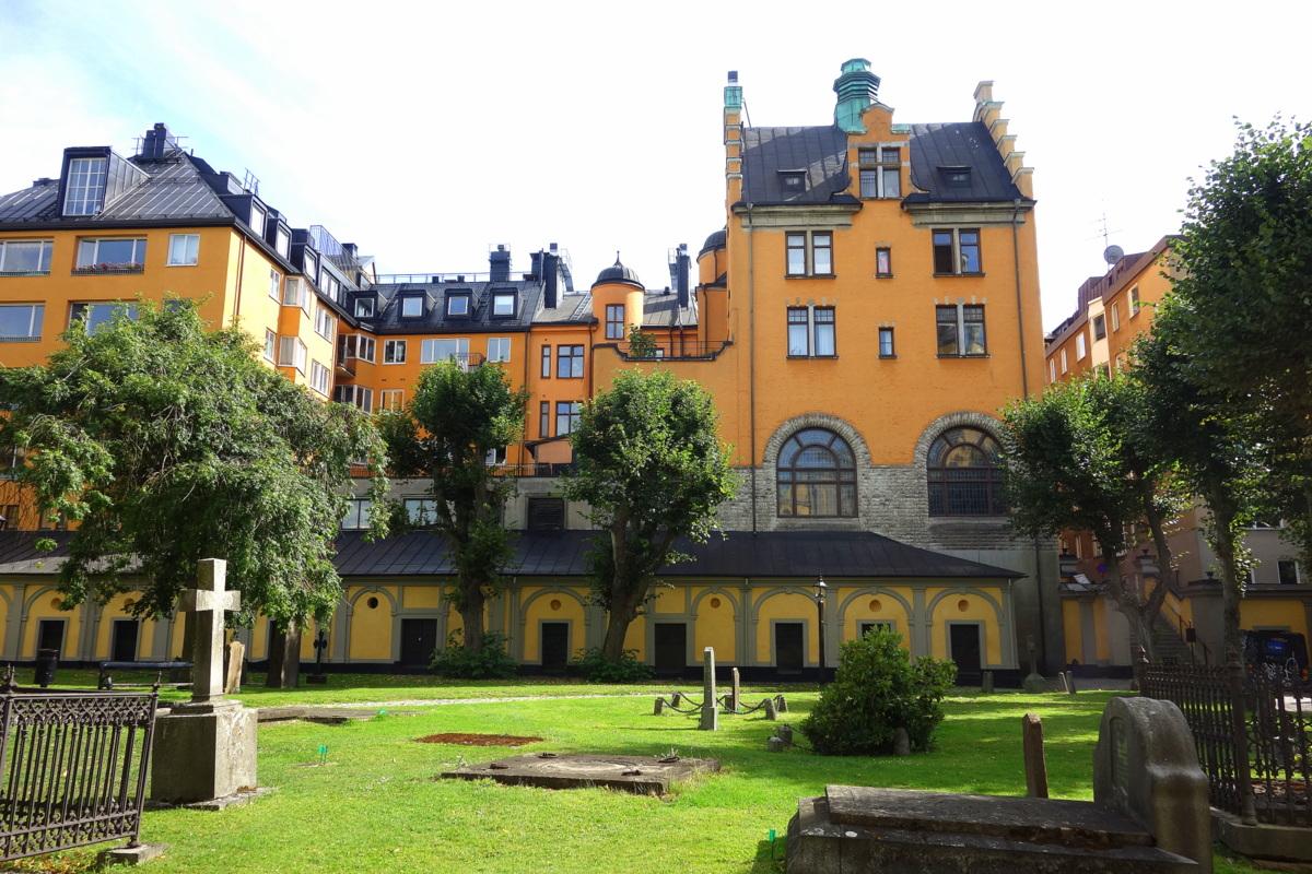 Stockholm - L'église Sainte-Marie Madeleine