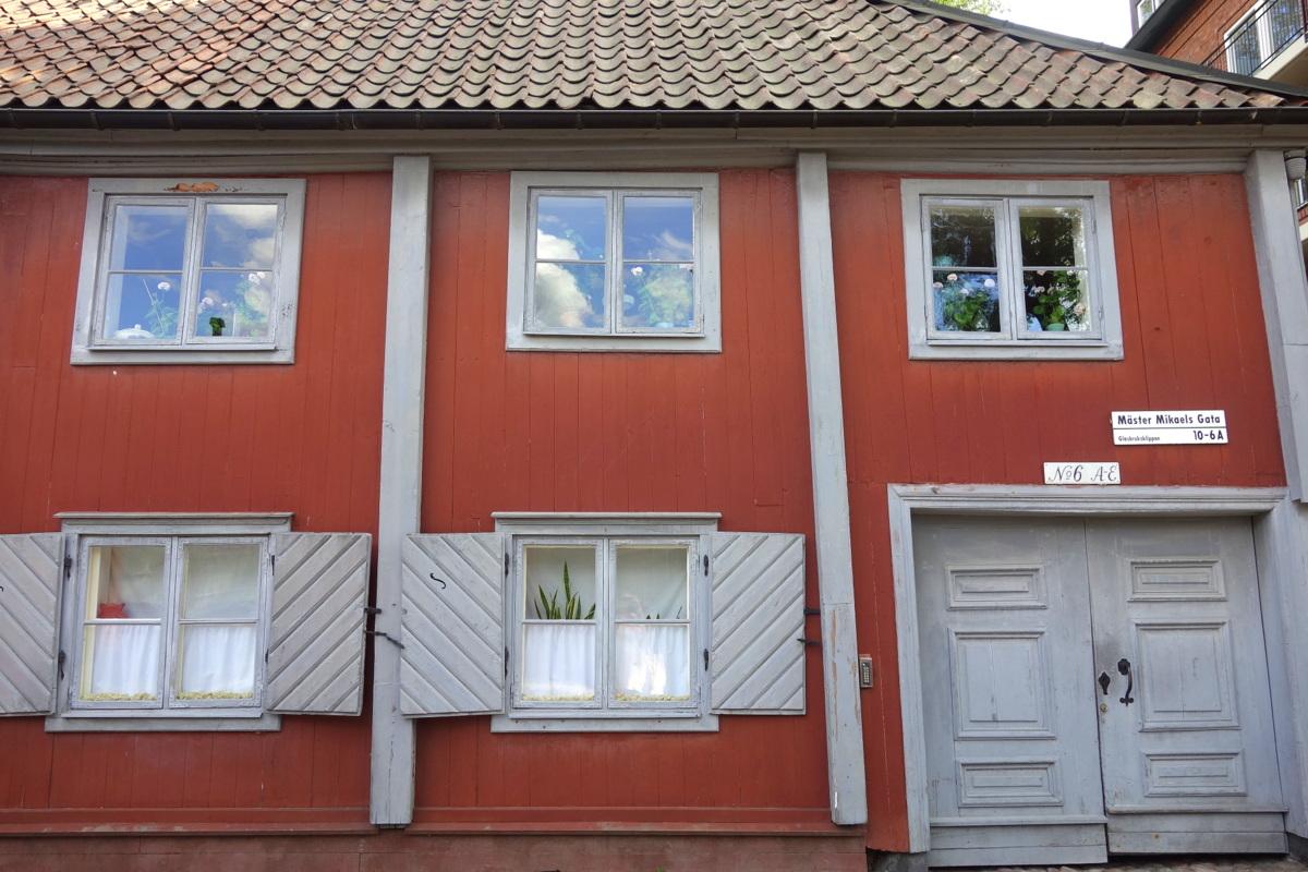 Stockholm - Les vieilles maisons suédoises de Södermalm