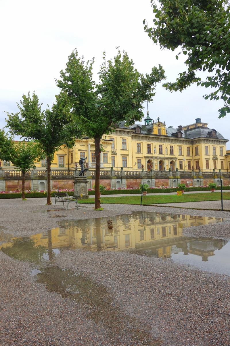 Stockholm, palais royal de Drottningholm - Le parc