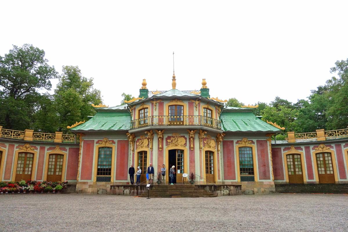 Stockholm, palais royal de Drottningholm - Le pavillon chinois