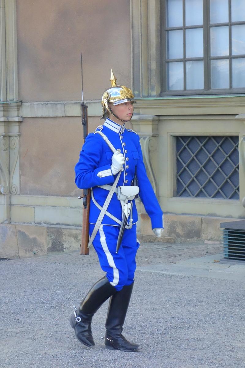 Château royal - Kungliga Slottet - Les gardes